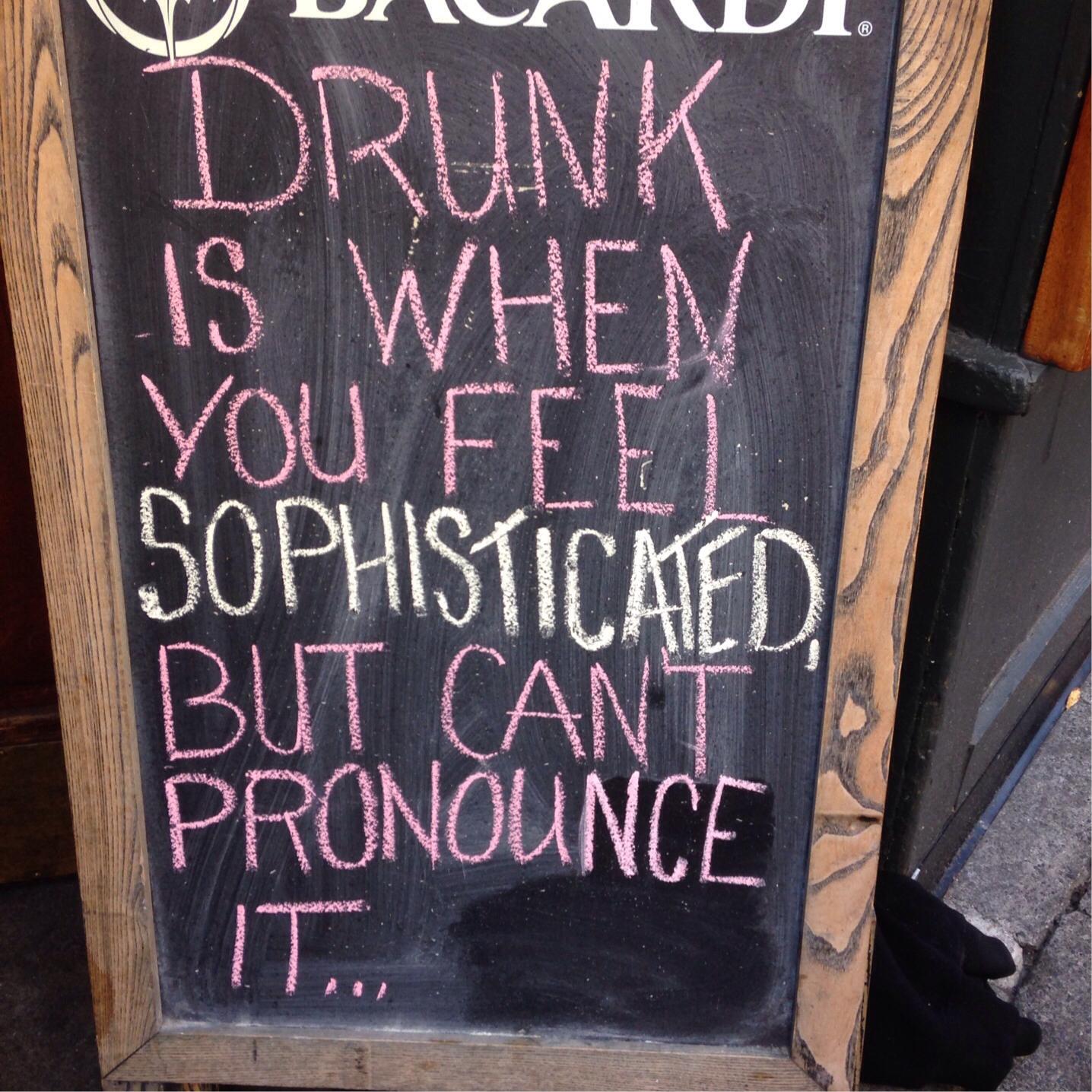 drunk is...